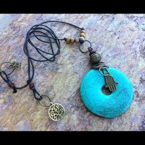Jewelry - 🦋 Magnesite Necklace 🦋